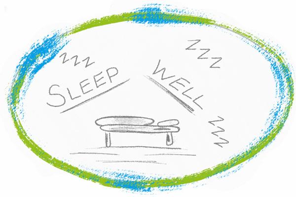 Bett schlaf gesunder schlaf sleep well